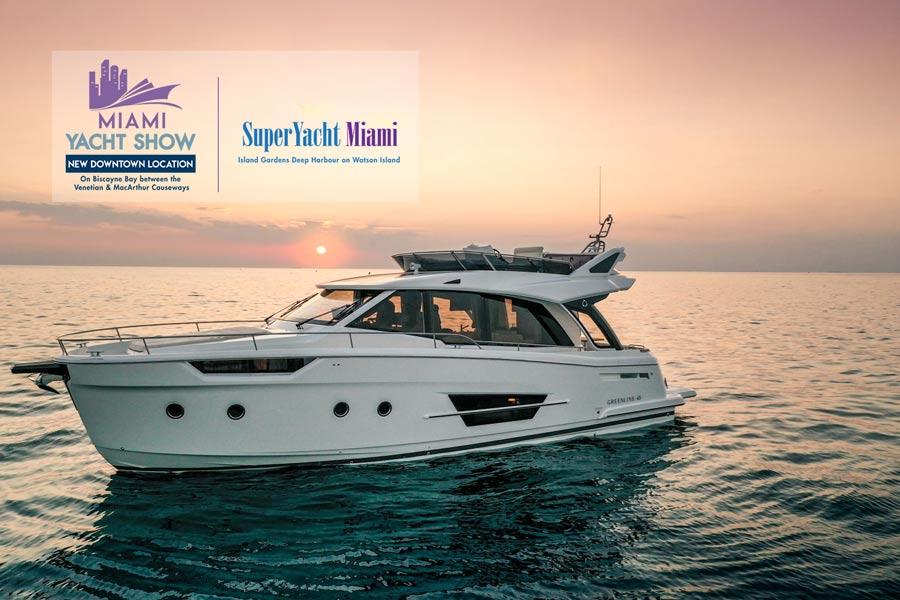 Miami Yacht Show 2020.2020 Miami Yacht Show Greenline Yachts